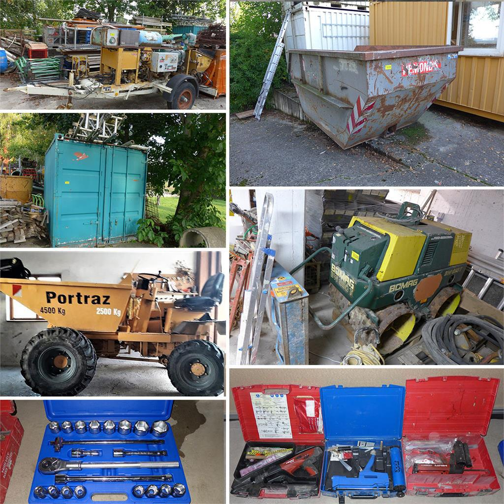 construction equipment, tools and more