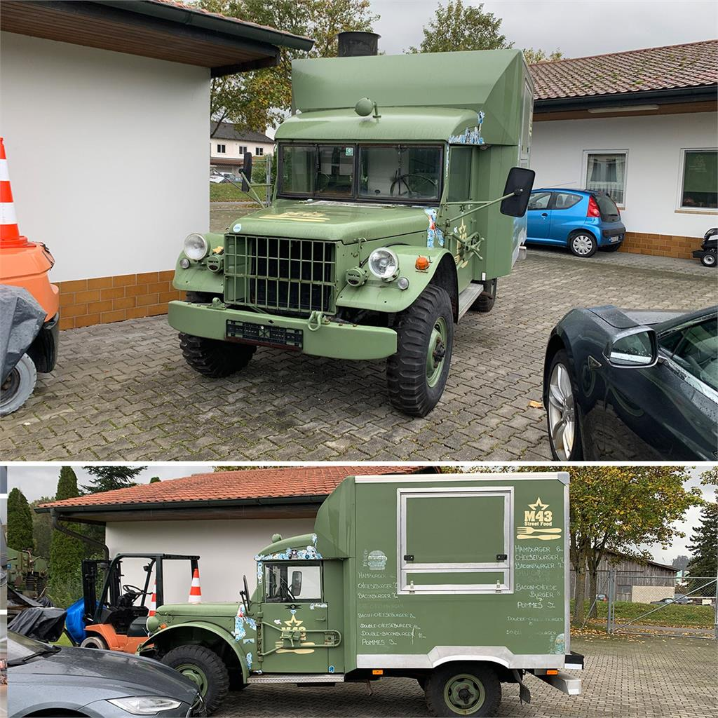 Dodge Wagon M43 BL Foodtruck
