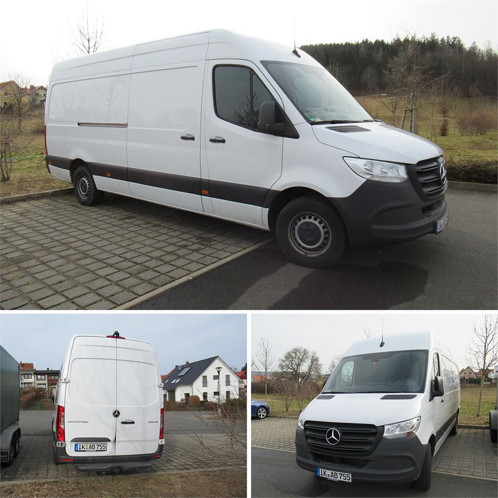 Transporter Mercedes Benz Sprinter 319