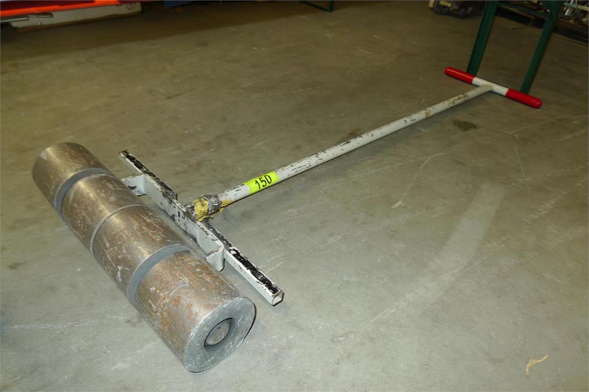 Teppich bzw Fußbodenandrückwalze  Lotdetail  HÄMMERLE