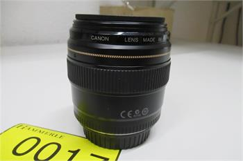 Objektiv Canon Lens Made in Japan EF 85mm 1:1,8